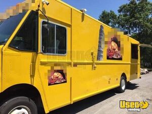 2011 Workhorse Pizza Food Truck Air Conditioning Texas Gas Engine for Sale