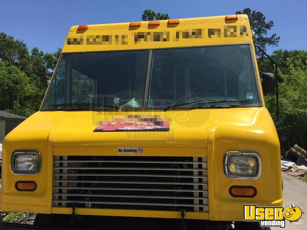 2011 Workhorse Pizza Food Truck Floor Drains Texas Gas Engine for Sale - 7