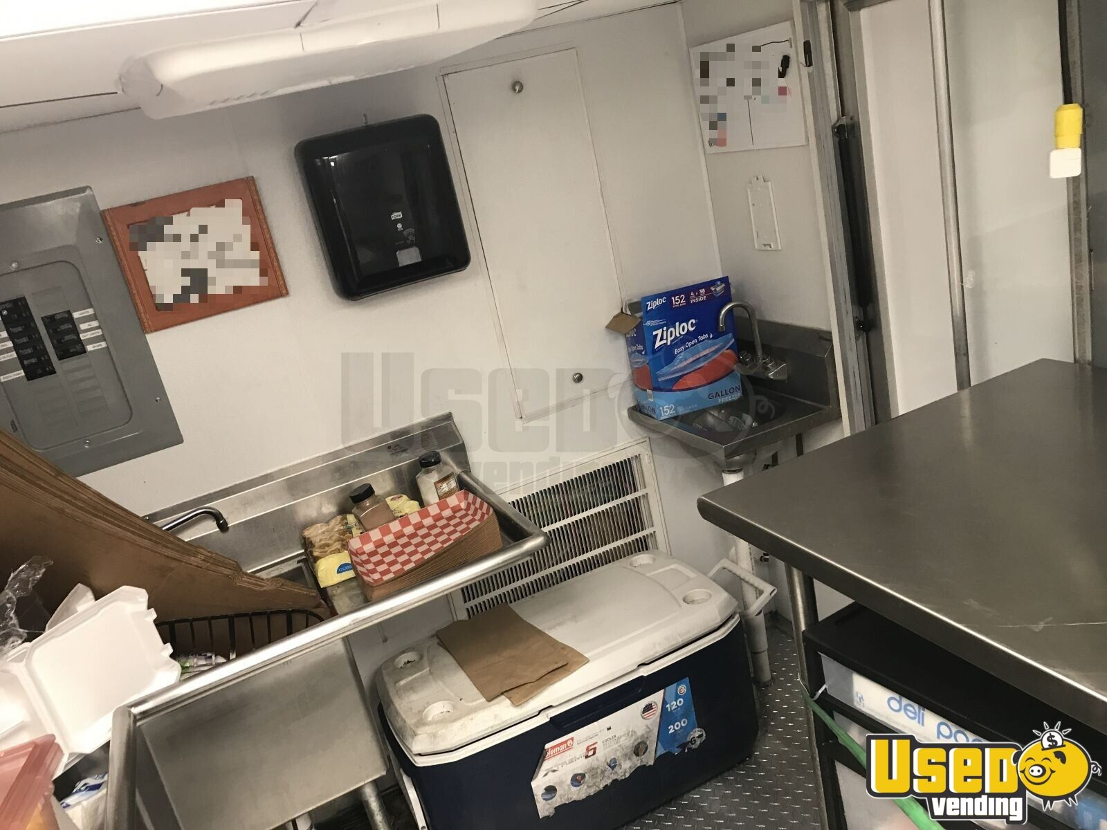 2012 All-purpose Food Truck Prep Station Cooler North Carolina Gas Engine for Sale - 14