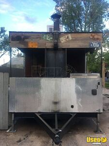 2012 Barbecue Concession Trailer Barbecue Food Trailer Flatgrill Colorado for Sale