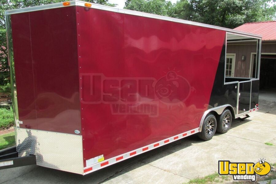 2012 Concession Trailer Exhaust Hood Georgia for Sale - 10