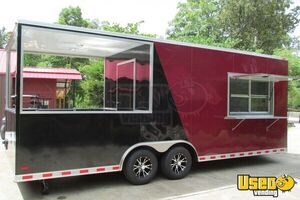 NEW 24' x 8.5' Custom Built BBQ Porch Concession Trailer!!!