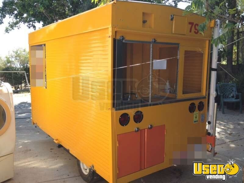 2012 Custom Built Concession Trailer Cabinets California for Sale - 3
