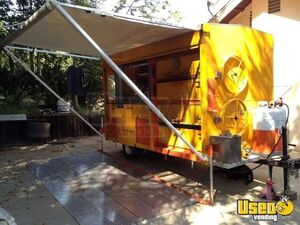 2012 - 10' x 6' Custom Built Corn / Potato Roaster Concession Trailer!!!