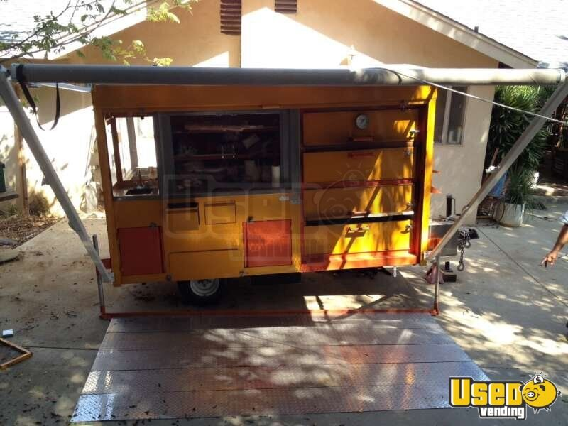 2012 Custom Built Concession Trailer Hot Water Heater California for Sale - 6
