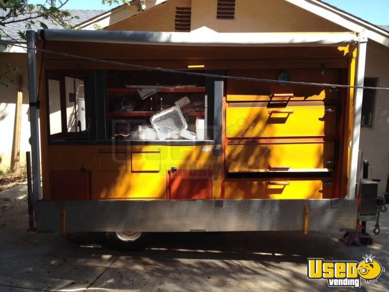 2012 Custom Built Concession Trailer Insulated Walls California for Sale - 4
