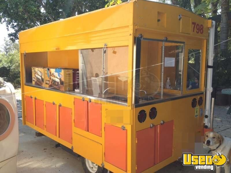 2012 Custom Built Concession Trailer Propane Tank California for Sale - 5