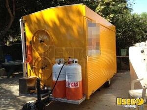2012 Custom Built Concession Trailer Removable Trailer Hitch California for Sale
