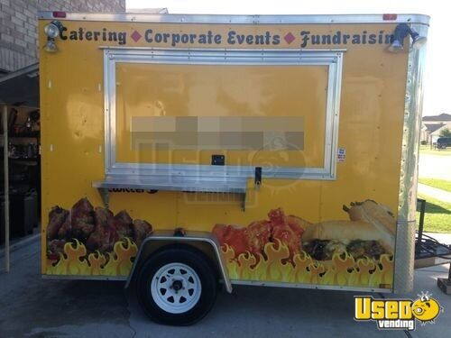 2012 Diamond All-purpose Food Trailer Air Conditioning Texas for Sale - 2