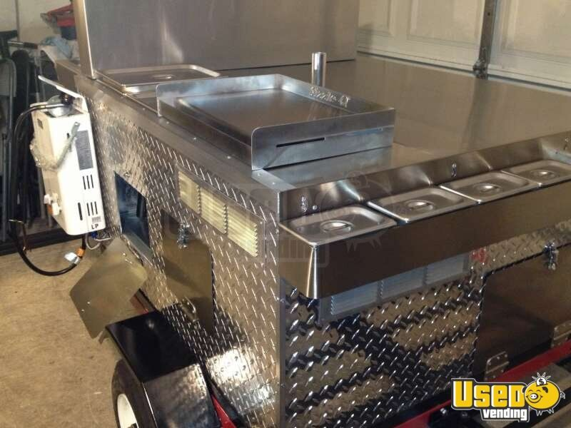 2012 Dock Dawgs Deluxe Mobile Food Cart Cart 3 Michigan for Sale - 3