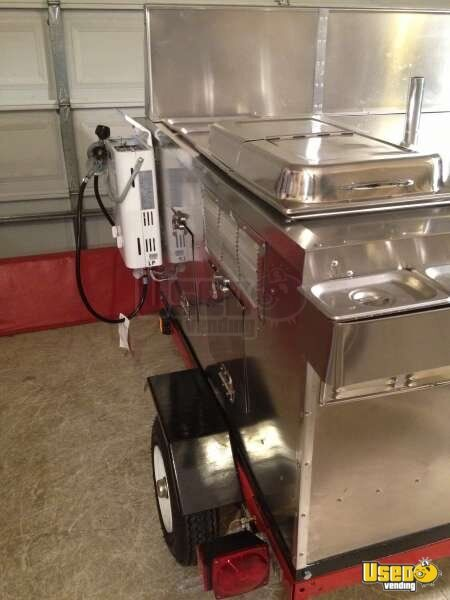 2012 Dock Dawgs Deluxe Mobile Food Cart Cart 7 Michigan for Sale - 7