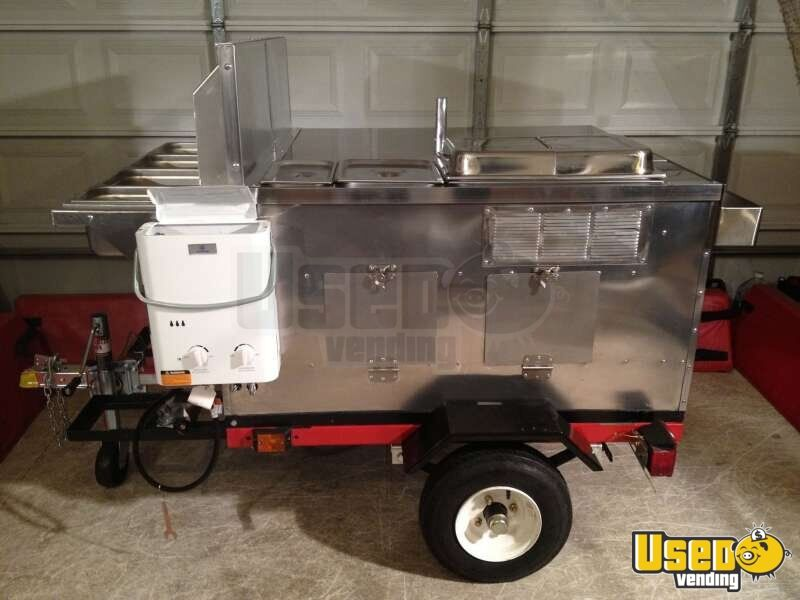 2012 Dock Dawgs Deluxe Mobile Food Cart Cart 8 Michigan for Sale - 8