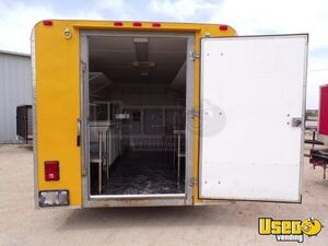 2012 Expedition Food Concession Trailer Concession Trailer Interior Lighting Texas for Sale