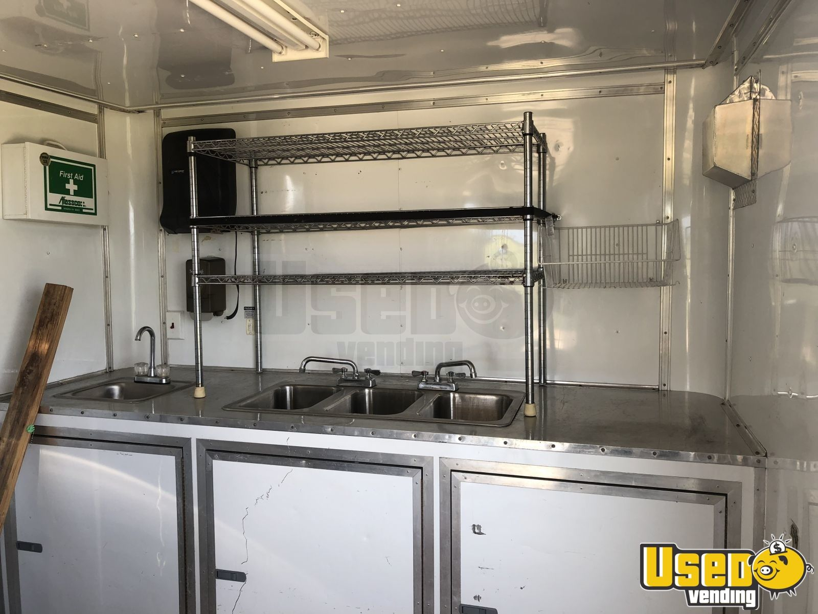 2012 Food Concession Trailer Concession Trailer Concession Window Texas for Sale - 2