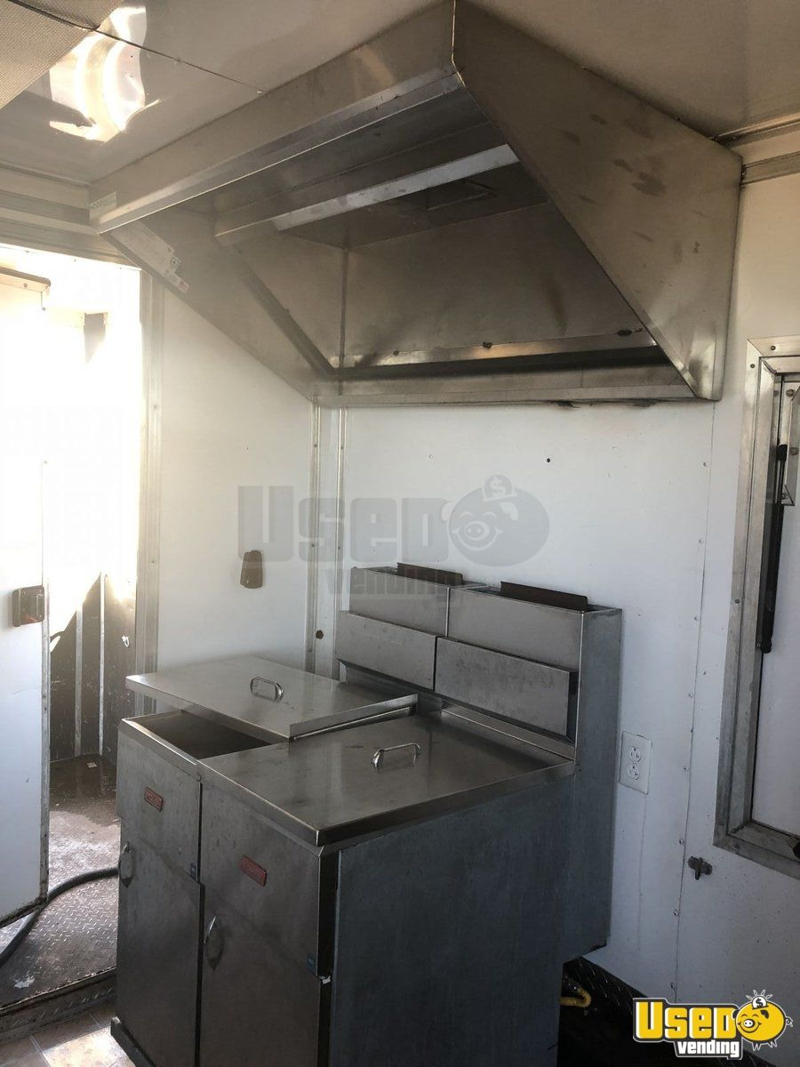 2012 Food Concession Trailer Concession Trailer Generator Texas for Sale - 5