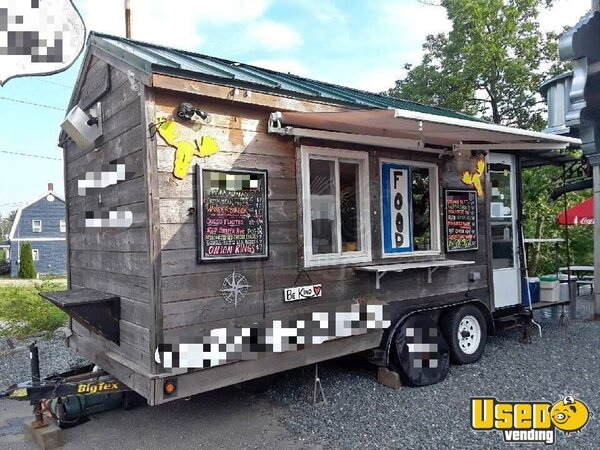 2012 Food Concession Trailer Concession Trailer Maine for Sale