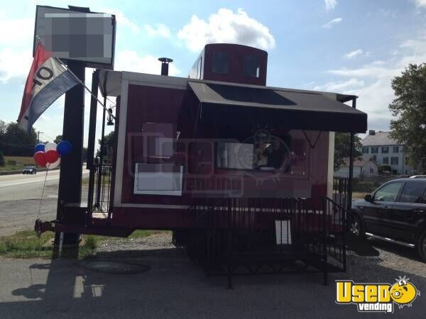 2012 Food Concession Trailer Kitchen Food Trailer Air Conditioning Pennsylvania for Sale - 2