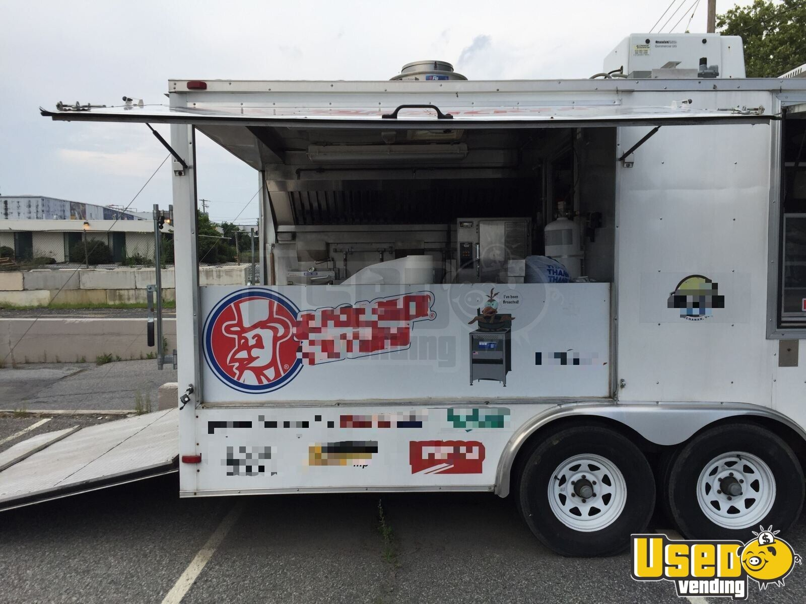 2012 Food Concession Trailer Kitchen Food Trailer Cabinets Pennsylvania for Sale - 3