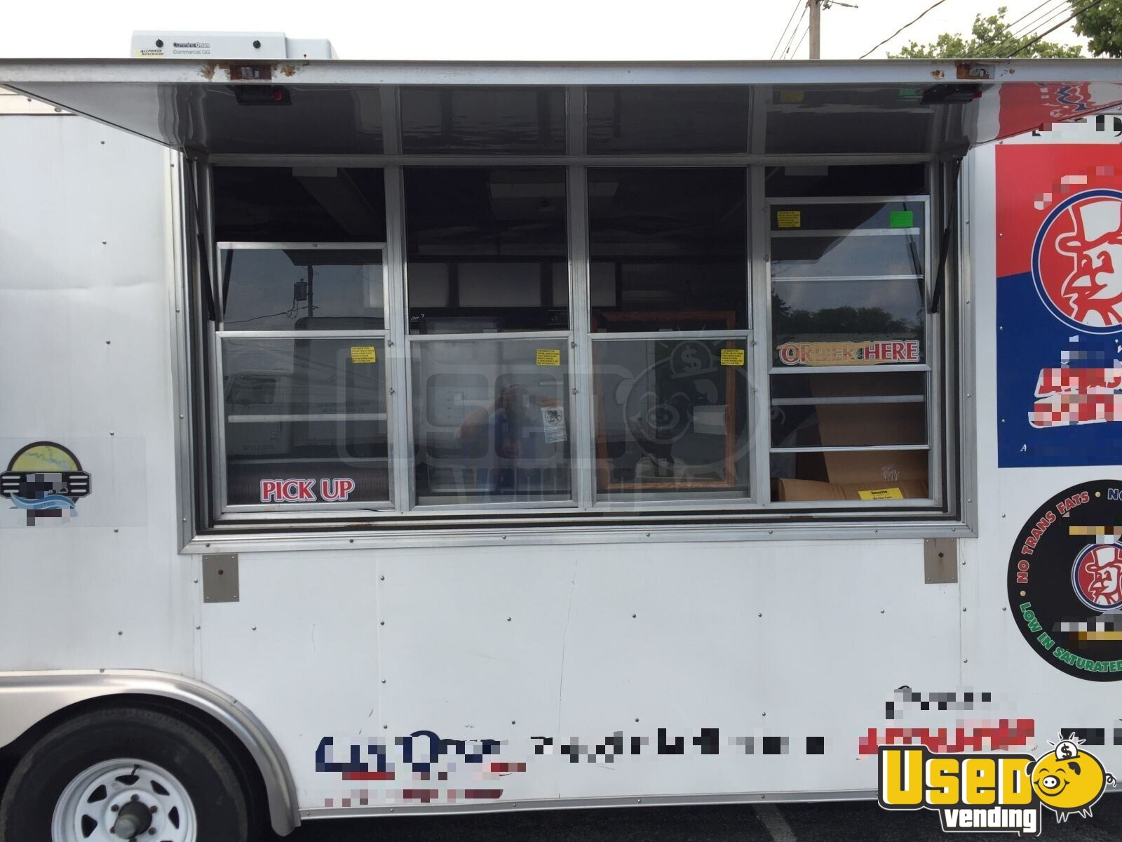 2012 Food Concession Trailer Kitchen Food Trailer Concession Window Pennsylvania for Sale - 2