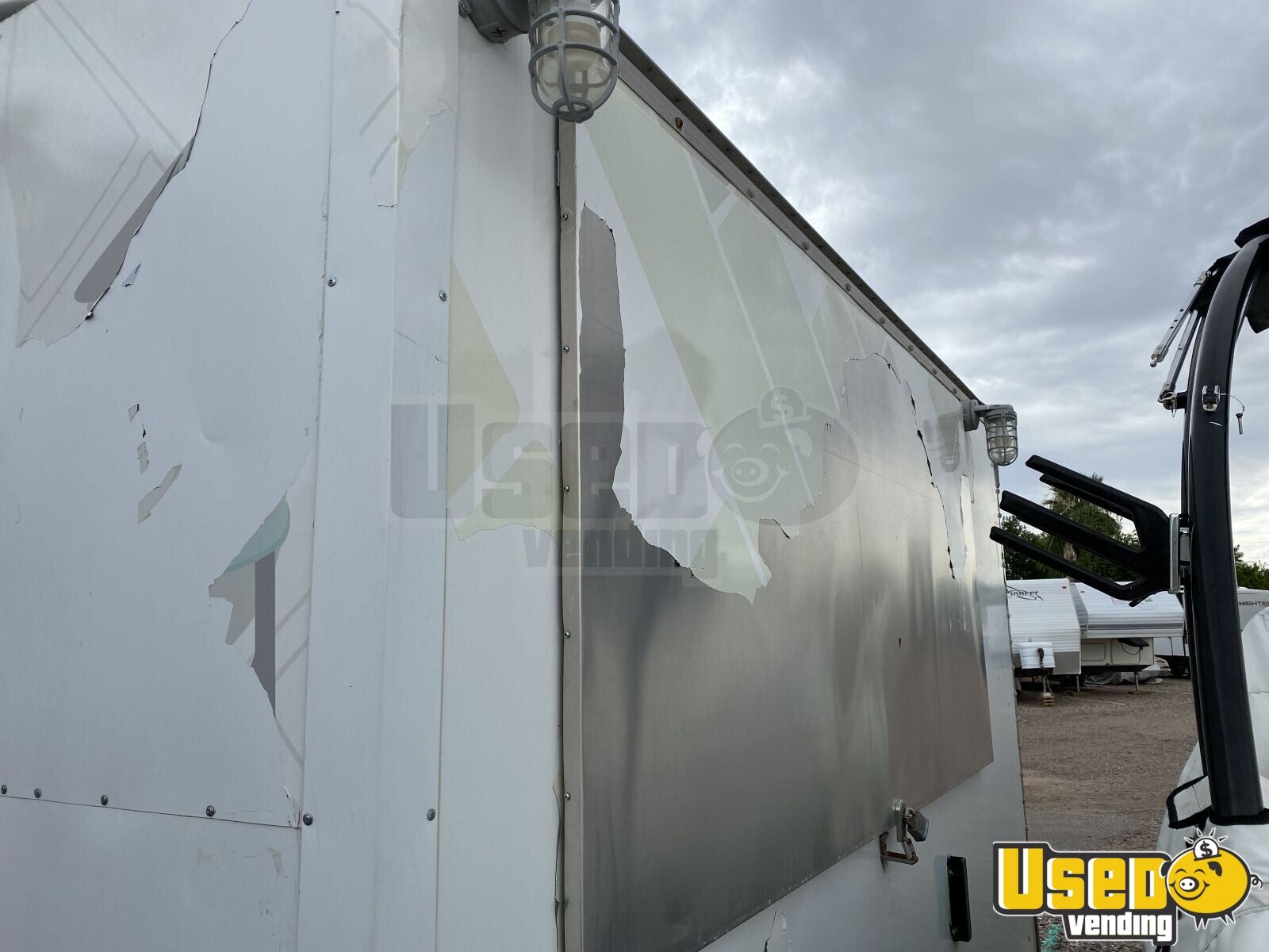 2012 Food Concession Trailer Kitchen Food Trailer Deep Freezer Arizona for Sale - 10