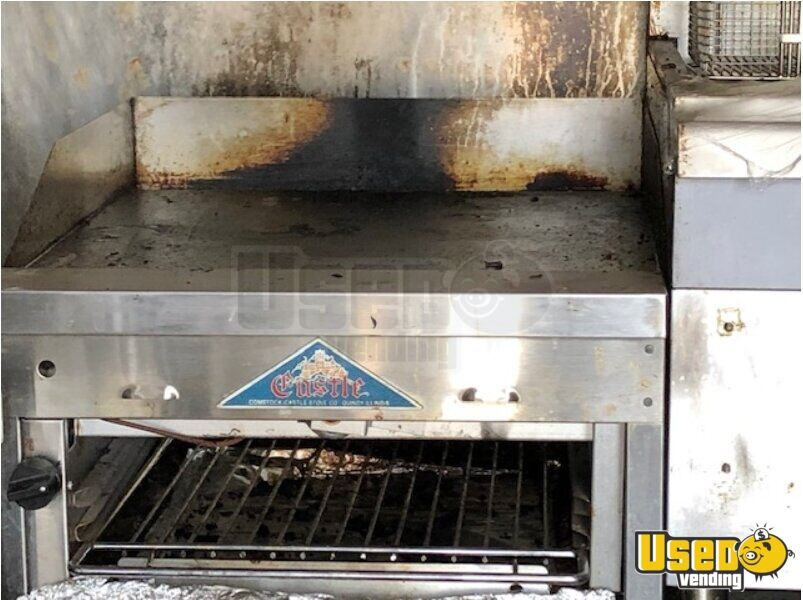 2012 Food Concession Trailer Kitchen Food Trailer Diamond Plated Aluminum Flooring Arizona for Sale - 6