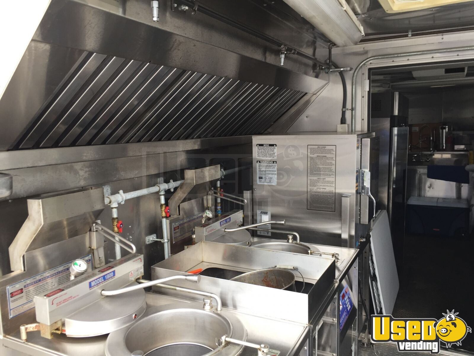 2012 Food Concession Trailer Kitchen Food Trailer Generator Pennsylvania for Sale - 7