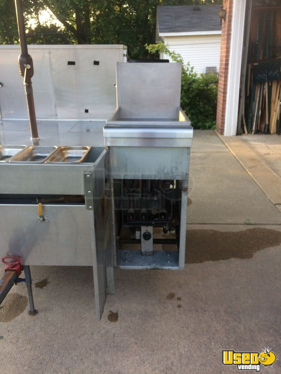 2012 Hot Dog Cart Company Food Cart 11 Michigan for Sale - 11