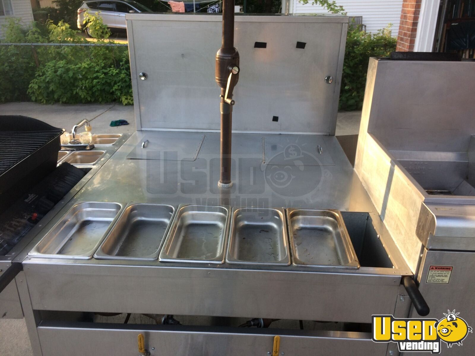 2012 Hot Dog Cart Company Food Cart 6 Michigan for Sale - 6