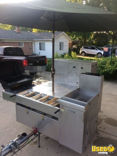 2012 Hot Dog Cart Company Food Cart Michigan for Sale