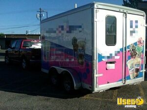 2012 Ice Cream Concession Trailer Ice Cream Trailer Commercial Blender / Juicer Montana for Sale