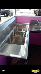 2012 Ice Cream Concession Trailer Ice Cream Trailer Hand-washing Sink California for Sale