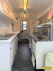 2012 Ice Cream Concession Trailer Ice Cream Trailer Interior Lighting Montana for Sale