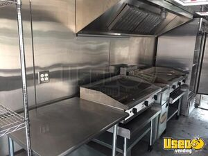 2012 Kitchen Food Trailer Awning Iowa Diesel Engine for Sale