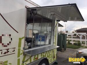2012 Kitchen Food Trailer Exterior Customer Counter Iowa Diesel Engine for Sale