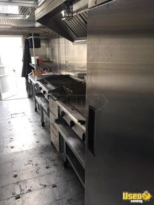 2012 Kitchen Food Trailer Floor Drains Iowa Diesel Engine for Sale