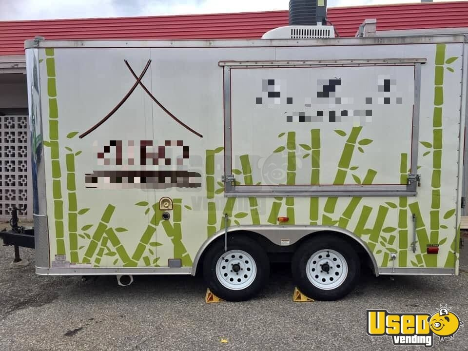 2012 Kitchen Food Trailer Propane Tank Iowa Diesel Engine for Sale - 9