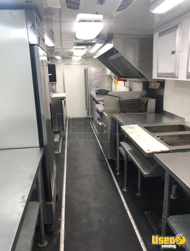 2012 Kitchen Food Truck All-purpose Food Truck Cabinets Oklahoma Diesel Engine for Sale - 4