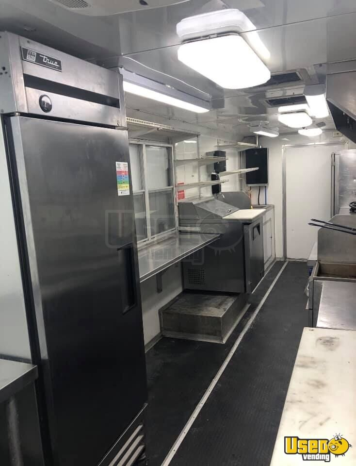 2012 Kitchen Food Truck All-purpose Food Truck Propane Tank Oklahoma Diesel Engine for Sale - 7