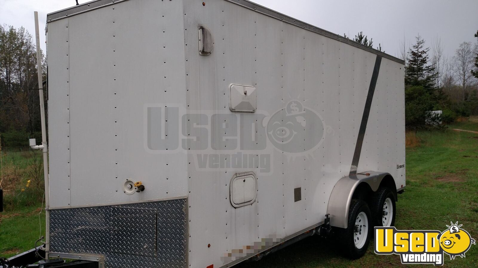 2012 Lgs Industries Concession Trailer Concession Window Michigan for Sale - 2