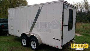 2012 Lgs Industries Concession Trailer Insulated Walls Michigan for Sale