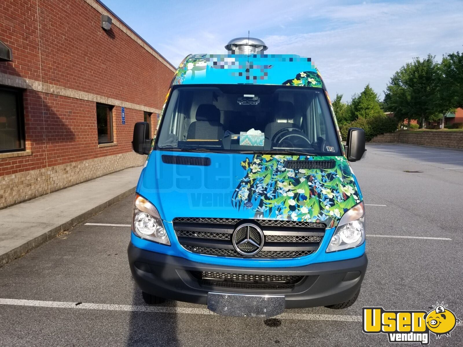 2012 Mercedes Sprinter 3500 All-purpose Food Truck Stainless Steel Wall Covers Georgia Diesel Engine for Sale - 5