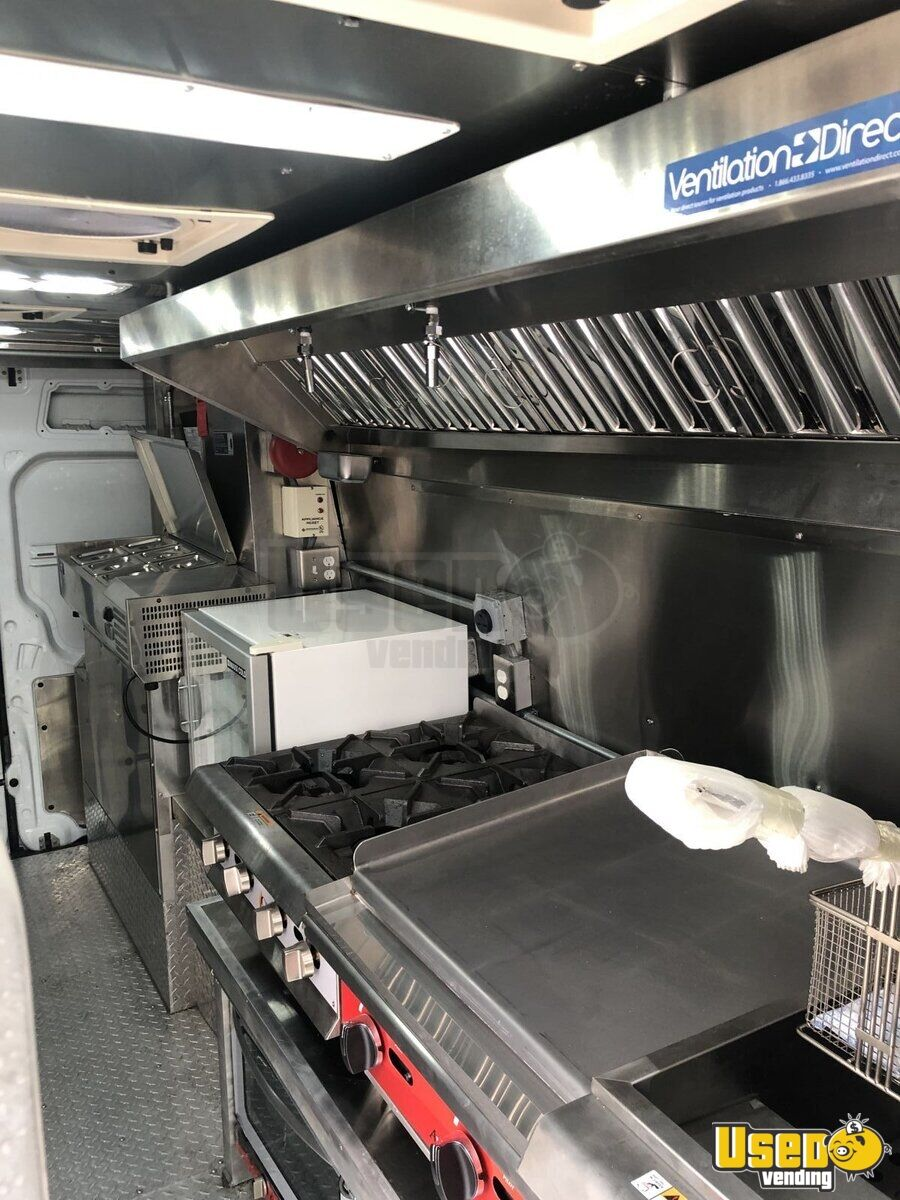 2012 Mercedes Sprinter Food Truck Concession Window Florida Diesel Engine for Sale - 3