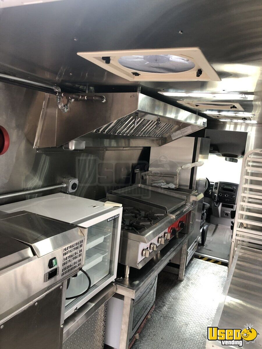 2012 Mercedes Sprinter Food Truck Insulated Walls Florida Diesel Engine for Sale - 5