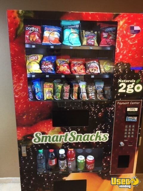 2012 N2go4000 Naturals 2 Go Vending Combo New Jersey for Sale