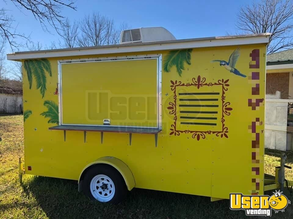 2012 Snopro Concession Trailer Concession Window Louisiana for Sale - 3
