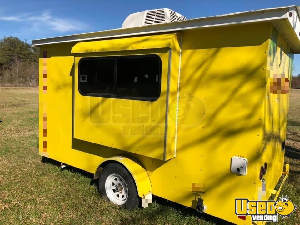 2012 Snopro Concession Trailer Removable Trailer Hitch Louisiana for Sale - 4