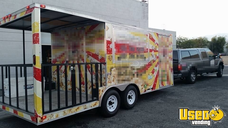 2013 23f Concession Trailer Extra Concession Windows California for Sale - 4