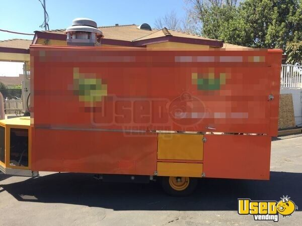 2013 All-purpose Food Trailer Removable Trailer Hitch California for Sale - 2