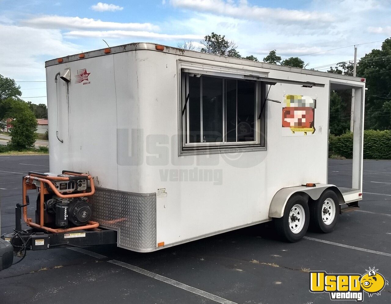 2013 Cargo Bbq Trailer All-purpose Food Trailer Concession Window Missouri for Sale - 2