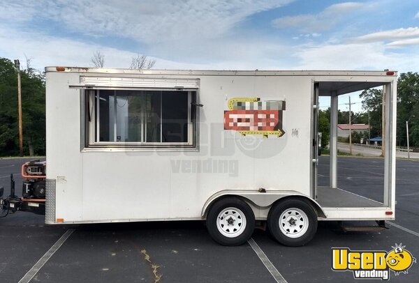 2013 Cargo Bbq Trailer All-purpose Food Trailer Missouri for Sale